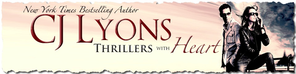 CJ Lyons Thrillers with Heart